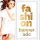 Fashion Banner Ads - GraphicRiver Item for Sale