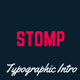 Coming Soon Template | Landing Page | Stomp - Typographic Intro - ThemeForest Item for Sale