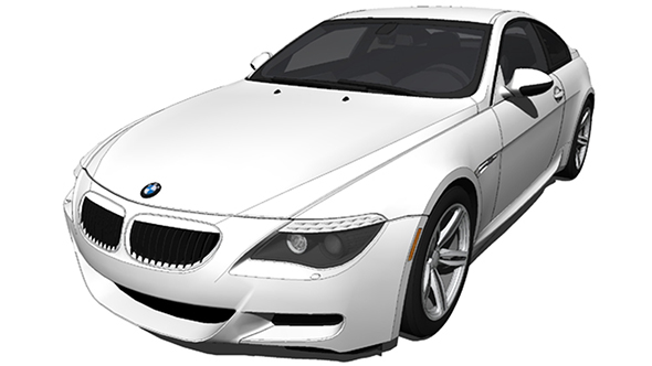 BMW M6 2006 - 3DOcean Item for Sale