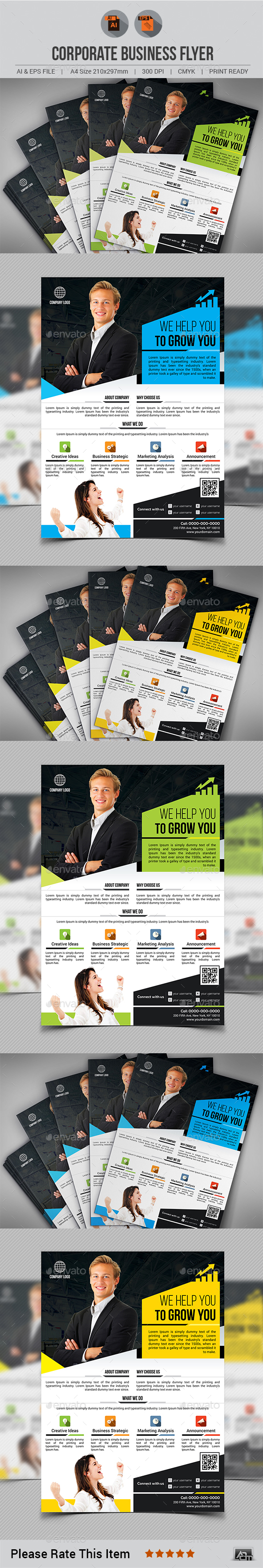 GraphicRiver Flyer 20368379