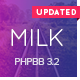 Milk - Multipurpose Responsive phpBB 3.2 Theme Nulled