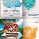 Summer Party Psd Flyer Bundle - GraphicRiver Item for Sale