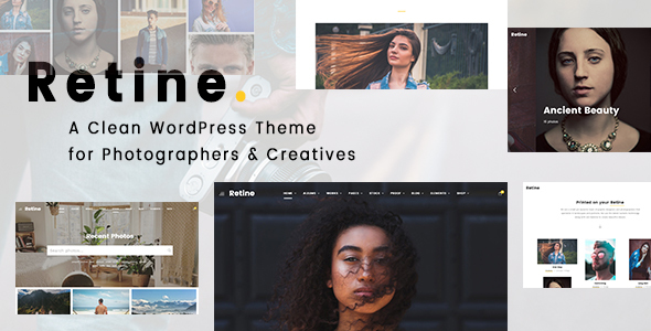 Retine - A WordPress Theme for Photographers and Creatives - Photography Creative
