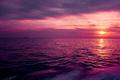 Purple Sunset Above The Sea - PhotoDune Item for Sale