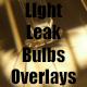 Light Leak Bulb 14 Overlays