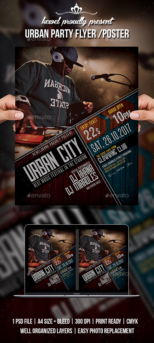Urban Party Flyer / Poster