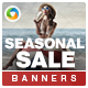 Seasonal Sale Banners - GraphicRiver Item for Sale