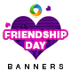 Friendship Day Banners - GraphicRiver Item for Sale