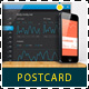 Web App Tech and Hosting Postcard Template - GraphicRiver Item for Sale