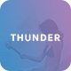 Thunder - Creative PSD Template - ThemeForest Item for Sale