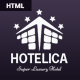 Hotelica - One Page Hotel Responsive Template