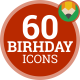 Party Birthday Celebration - Flat Animated Icons and Elements