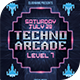Techno Arcade 3 Flyer Template - GraphicRiver Item for Sale
