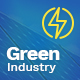 Green Industry - Renewable Energy & Ecology Friendly Industrial Theme