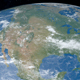 North America Continent in Planet Earth - VideoHive Item for Sale