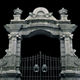 Large Stone Gates And Decorative Bars Nulled