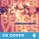 Summer Beach Vibes - House Music CD Cover Artwork Template - GraphicRiver Item for Sale