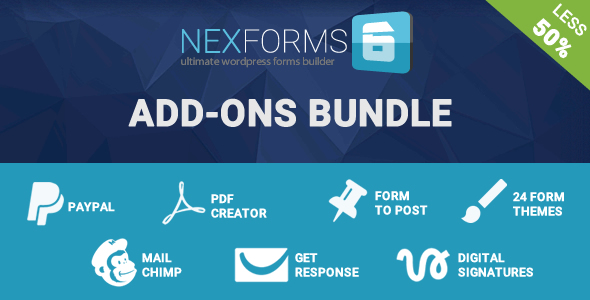 Add-on Bundle for NEX-Forms - WordPress Form Builder - CodeCanyon Item for Sale