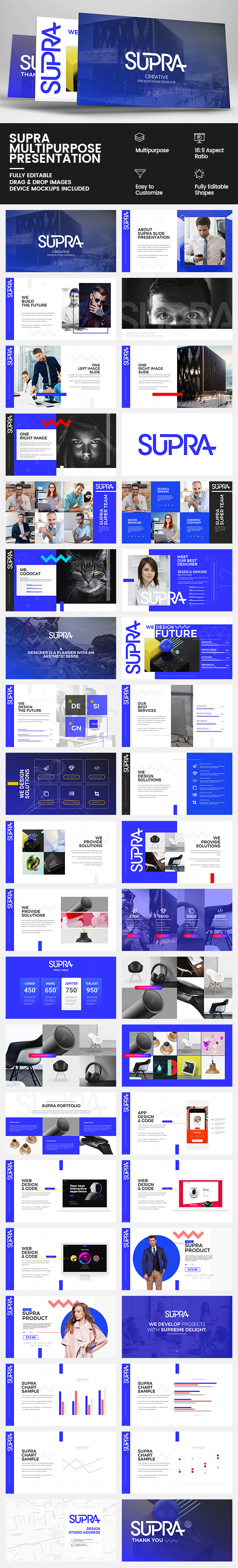 GraphicRiver Supra Multipurpose Keynote Presentation 20370683