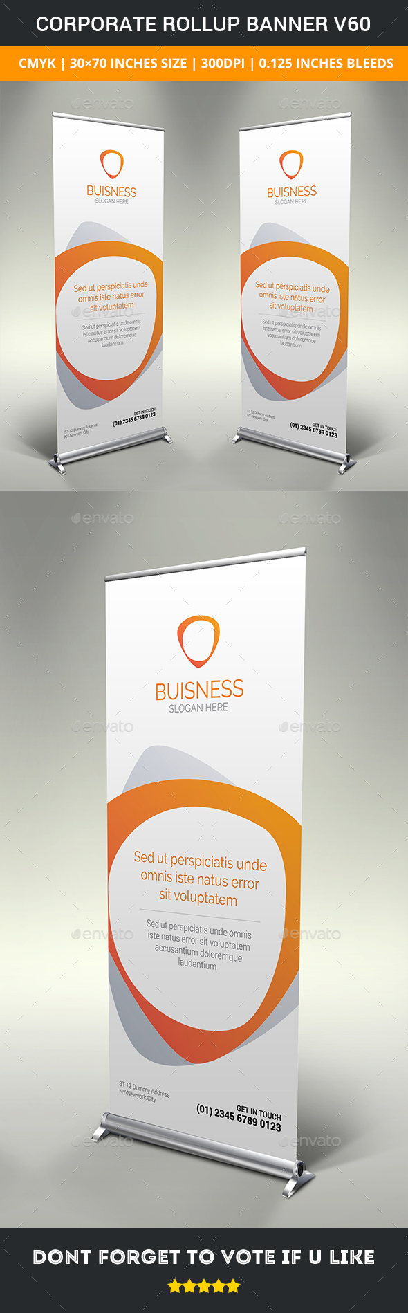 GraphicRiver Corporate rollup banner v60 20370684