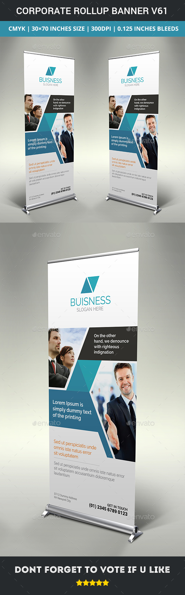 GraphicRiver Corporate rollup banner v61 20370705