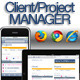 Simple & Lightweight Project/Client Manager