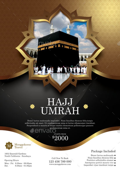 hajj and umrah by monggokerso