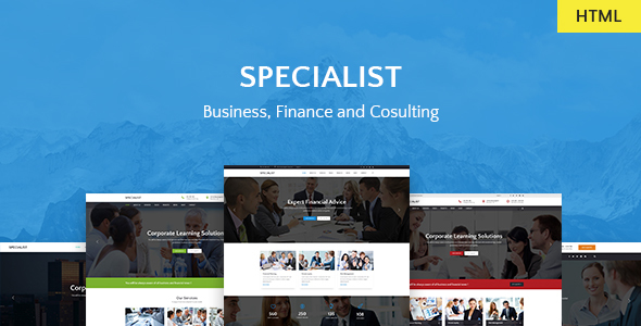 Specialist | Multipurpose Business & Financial, Consulting, Accounting, Broker HTML Templates