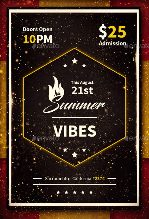 Summer Vibes - Flyer