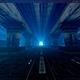 Moving Along a Futuristic Tunnel