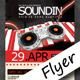 Soundin Party Flyer - GraphicRiver Item for Sale