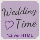 WeddingTime - Multipurpose One/Multipage Wedding HTML5 Template - ThemeForest Item for Sale