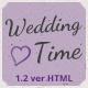 WeddingTime - Multipurpose One/Multipage Wedding HTML5 Template - ThemeForest Item for Sale
