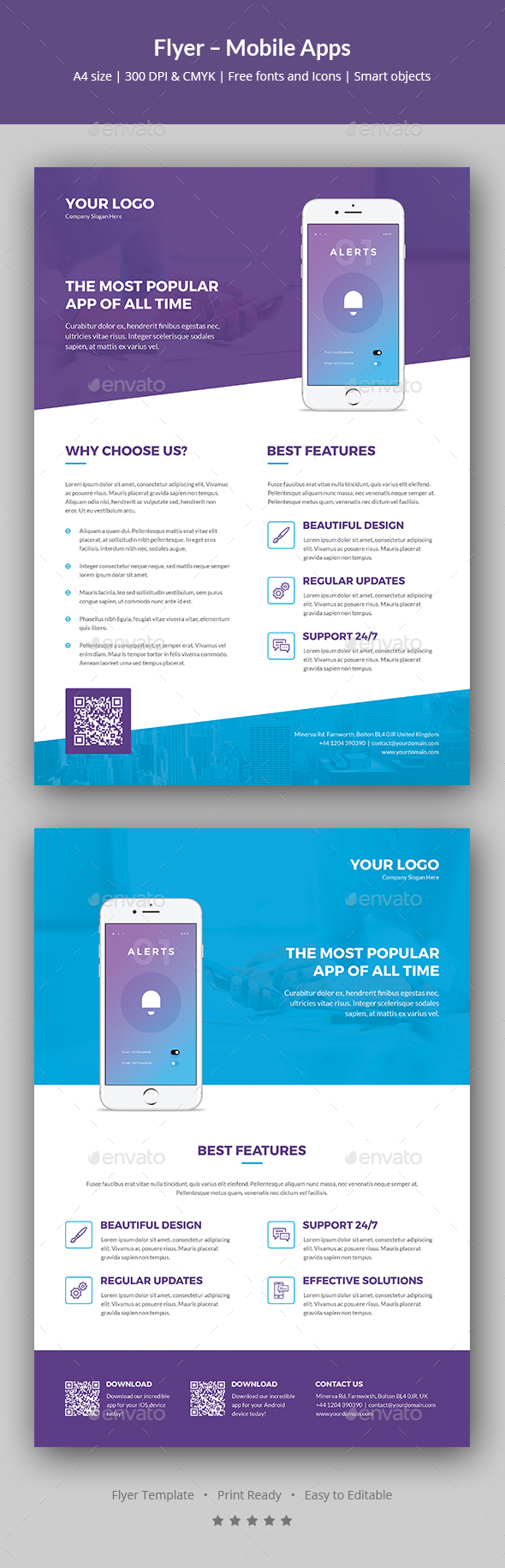 Flyer – Mobile Apps - Corporate Flyers