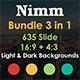 Nimm Bundle Business Google Slide Template - GraphicRiver Item for Sale