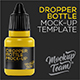 Dropper Bottle Mockup Template