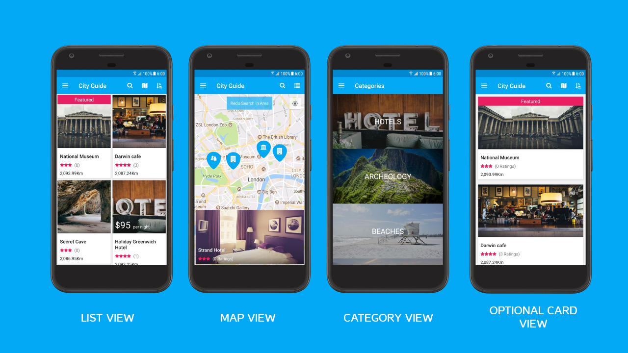 Top Five City Guide Android App Source Code Free Download