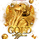 Gold Affair Flyer Template - GraphicRiver Item for Sale