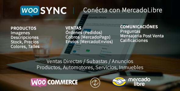 WooSync - Conecta Woocommerce con MercadoLibre - CodeCanyon Item for Sale