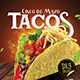Tacos Flyer / Poster Template - GraphicRiver Item for Sale