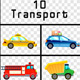 Cartoon Transport Pack