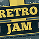 Retro Jam Flyer
