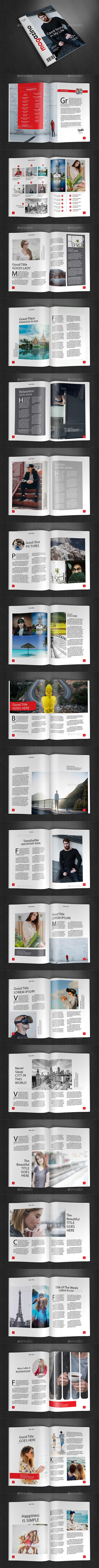 GraphicRiver A4 Magazine Template Vol.28 20368172