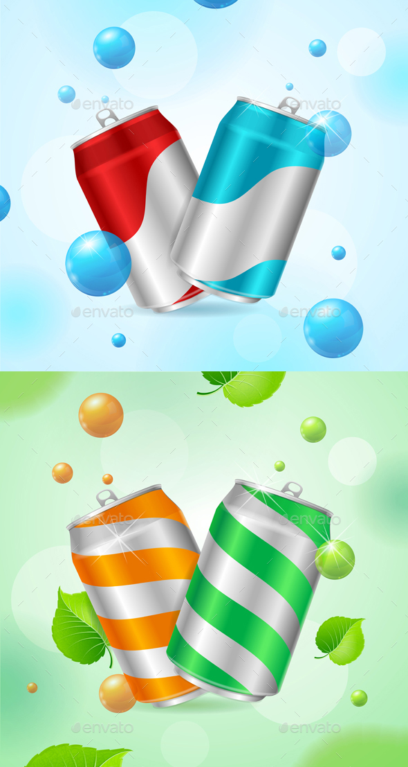 Steel Can Soft Drink Concept - Miscellaneous Conceptual