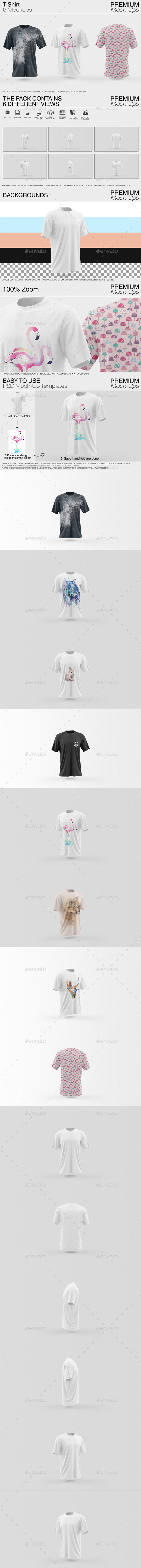 GraphicRiver Shirt Mockup Pack 20373179