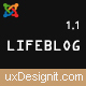 Lifeblog - Joomla Lifestyle Blogging and Magazine - ThemeForest Item for Sale