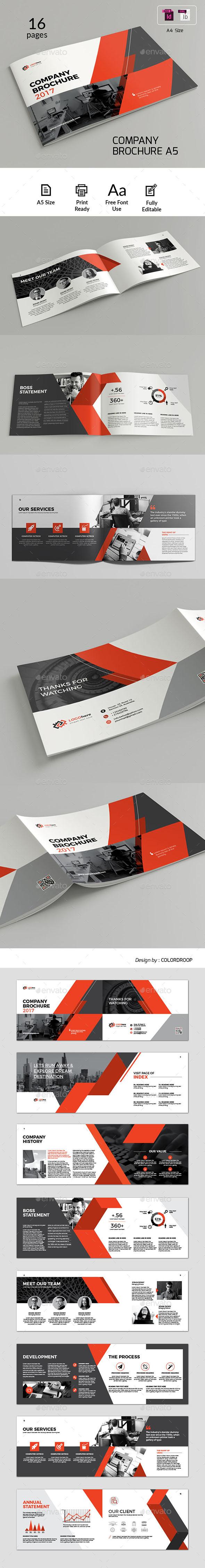 A5 Landscape Brochure - Corporate Brochures