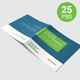 Square Bifold Brochure Mockup - GraphicRiver Item for Sale