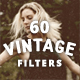 60 Vintage Old photo Filter Template