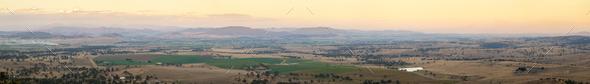 Australian Country Panorama